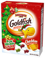Goldfish® Fun Holiday Colors Cheddar Baked Snack Crackers