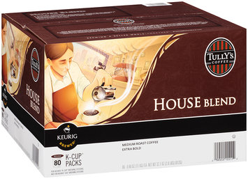 Tully's® House Blend Medium Roast Extra Bold Coffee 80-0.40 oz. Packs