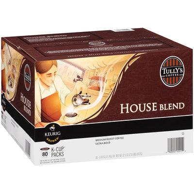 Tully's® House Blend Medium Roast Extra Bold Coffee 80-0.40 oz. Packs