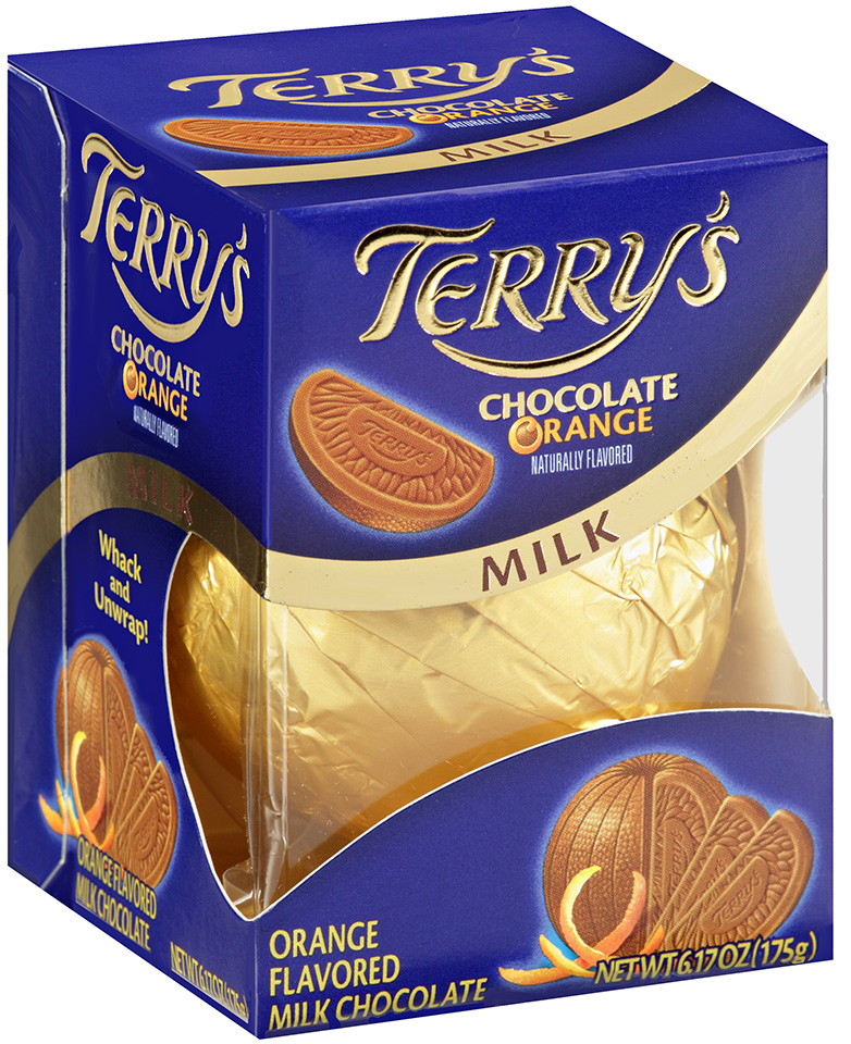 Terry's Milk Chocolate Orange 6.17 oz Box