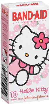Band-Aid® Brand Adhesive Bandages Hello Kitty® All One Size Decorated 10 Ct Peg