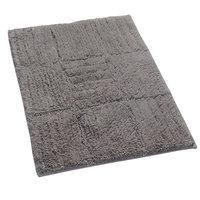 Textile Decor Castle 100% Cotton Chakkar Board Spray Latex Back Bath Rug, 30 H X 20 W, Stone