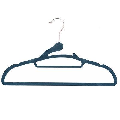 Richards Homewares Soft Grip E-Z Thread Suit Hanger Color: Blue