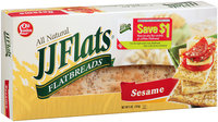 JJ Flats® Sesame Flatbreads 5 oz. Box