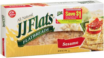 JJ Flats® Sesame Flatbreads 5 oz. Box