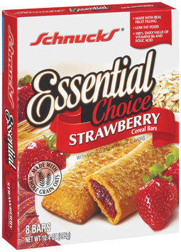 Schnucks Essential Choice Strawberry Cereal Bars 8 Ct Box