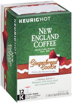 New England Coffee® Keurig® Hot Gingerbread Cookie 12-0.40 oz. Cups