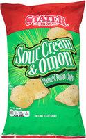 Stater Bros. Sour Cream & Onion Flavored Potato Chips, 9.5 oz Bag