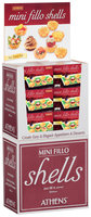 Athens® Mini Fillo Shells 60 ct Corrugated Display