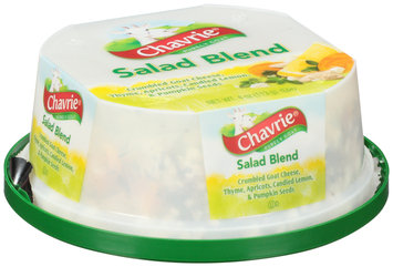 Chavrie® Salad Blend Crumbled Goat Cheese with Thyme, Apricots, Candied Lemon, & Pumpkin Seeds 4 oz. Tub