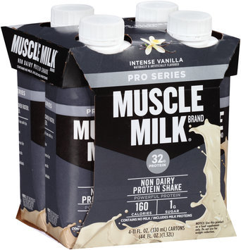 Muscle Milk® Intense Vanilla Non-Dairy Protein Shake 4-11 fl. oz. Cartons
