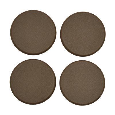 4legs4pets By Mahar Plastic Plugs Cot Leg Color: Brown