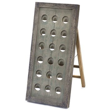 Gild Vin 18 Botte Tabletop Wine Rack