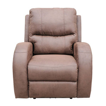 Ac Pacific Polyester Reclining Massage Chair