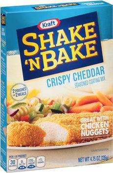 Kraft Shake 'n Bake Crispy Cheddar Seasoned Coating Mix 4.75 oz. Box