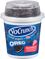 YoCrunch® Strawberry Lowfat Yogurt with Oreo® Cookie Pieces