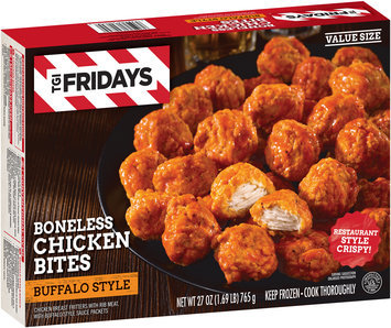 T.G.I. Friday's® Buffalo Style Sauce Boneless Chicken Bites 27 oz. Box