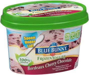 Blue Bunny® Bordeaux Cherry Chocolate Frozen Yogurt 5.5 fl. oz. Cup