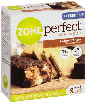 ZonePerfect® Fudge Graham Nutrition Bars 6 ct Box