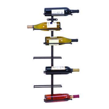 Mercury Row Zaniah 7 Bottle Mounted Wine Rack