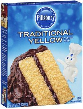 Pillsbury Traditional Yellow Cake Mix 15.25 oz box