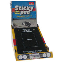 HandStands 13800 12 Count Sticky Pad, Black