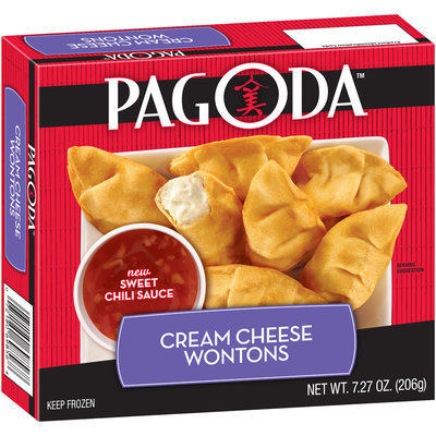 Pagoda™ Cream Cheese Wontons 7.27 oz. Box