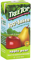Tree Top® 100% Juice Apple Pear 6.75 fl oz 3 ct Aseptic Pack