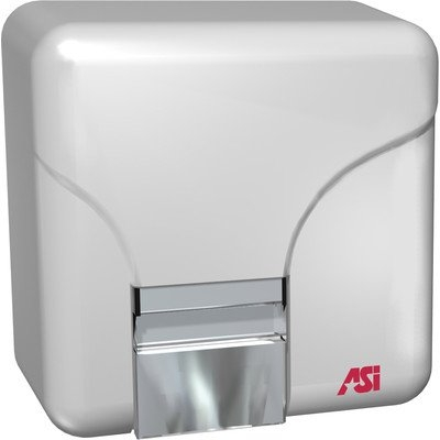 American Specialties Surface Mounted 240 Volt Sensor Hand and Face Dryer in White