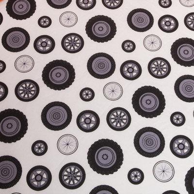 One Grace Place 10-20010 Teyos Tires Crib Sheet