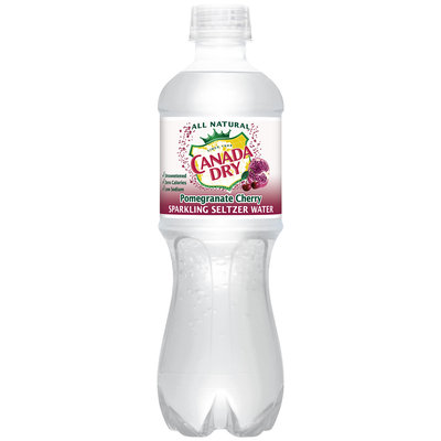 Canada Dry® Pomegranate Cherry Sparkling Seltzer Water
