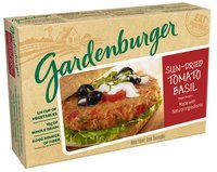 Gardenburger® Sun-Dried Tomato Basil Veggie Burgers 4 ct Box
