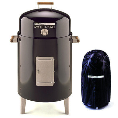 Brinkmann Charcoal Smoke'N Grill with Vinyl Cover