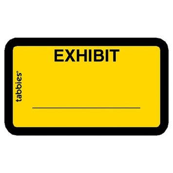 Tabbies Legal Exhibit Labels,