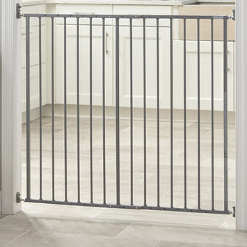 Storkcraft Easy Walk-Thru Metal Safety Gate Finish: Gray