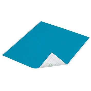 Duck Tape Single Sheets 8.65 X10 -Electric Blue