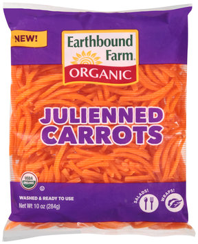 Earthbound Farm® Organic Julienned Carrots 10 oz. Bag