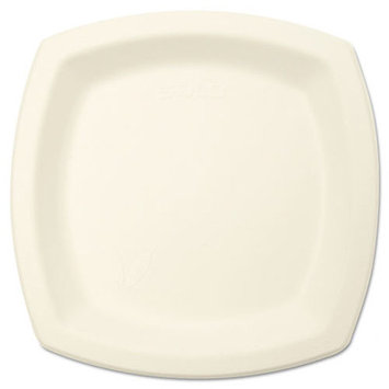 Solo Cups Bare Eco Forward Plate (Set of 125), 6 W x 6 D