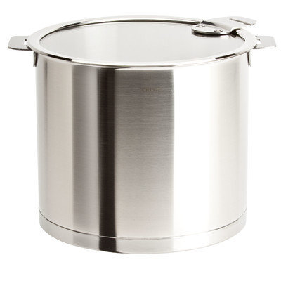 Cristel Strate Removable Handle 7.5 Quart Stockpot with Lid