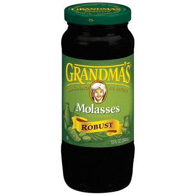Grandma's Unsulphured Robust Molasses 12 Oz Jar