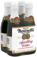 Martinelli's Gold Medal®  Sparkling Cider 4-8.4 oz. Glass Bottles