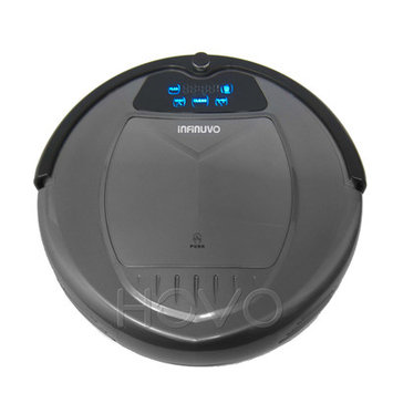 Infinuvo Hovo 620 Robotic Vacuum with Home Basic, Scheduler, Remote, Virtual Bloacker and UV light