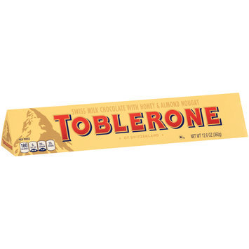 Toblerone Swiss Milk Chocolate with Honey & Almond Nougat