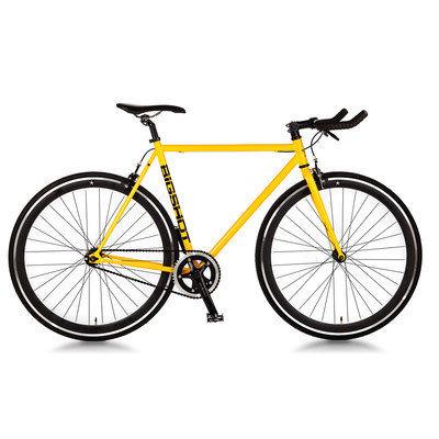 Big Shot Bikes Dakar Single Speed Fixed Gear Road Bike Size: 52cm