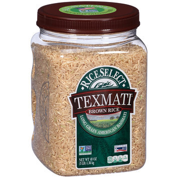 RiceSelect™ Texmati® Brown Rice 48 oz. Jar