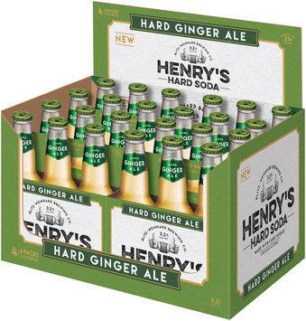 Henry's Hard Soda™ Hard Ginger Ale 24-12 fl. oz. Bottles