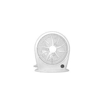 Optimus F1030 White 10 Personal Fan Stylish 3 Speed Energy