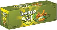 Tamarindo Sol® Tamarind Soda 12 Pack 12 fl. oz. Cans