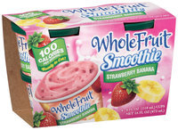 Whole Fruit® Frozen Smoothie Strawberry Banana