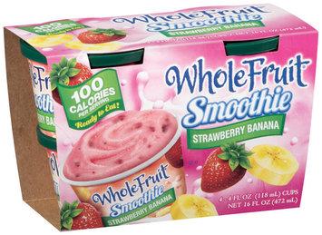 Whole Fruit® Frozen Smoothie Strawberry Banana